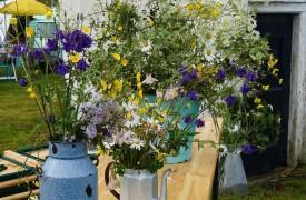 flower bouquet from the garden