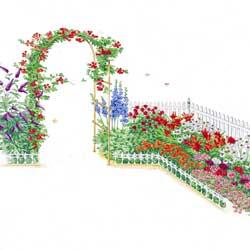 Butterfly/ Hummingbird - Garden Plan