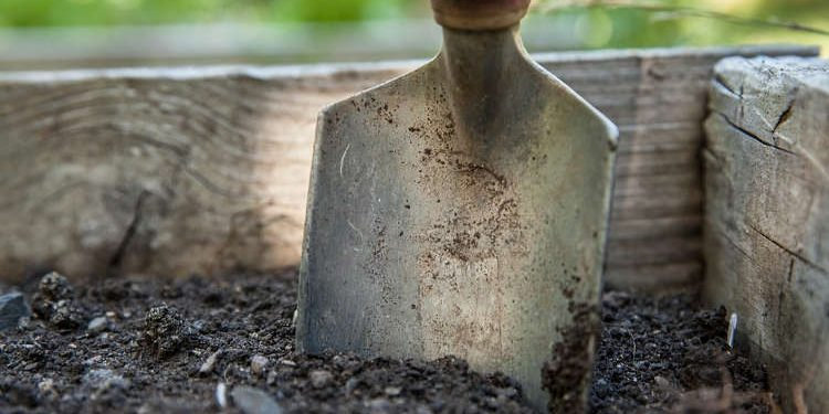 Digging the Garden Soil