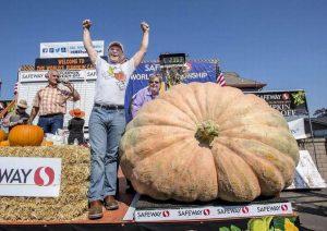2363 Holland Largest Pumpkin Records