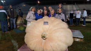 2528 Geddes Largest Pumpkin Records