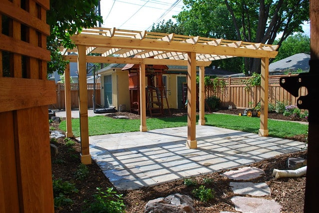 DIY Pergolas for your Backyard
