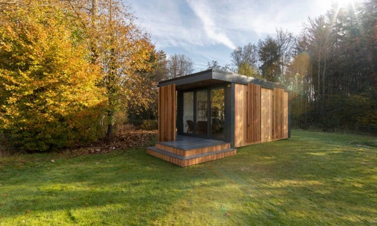 Garden Pods Allow Home for More Space Without Hindering the Garden