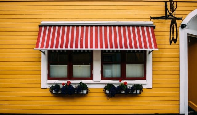 awning shade for patio or deck outdoor